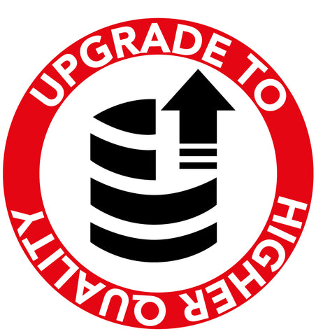 upgrade vinyl to higher quality