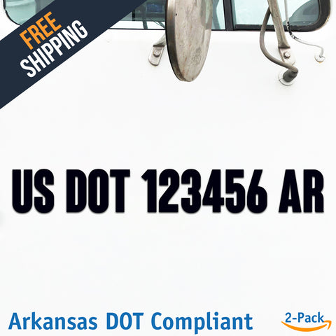 usdot decal ar arkansas