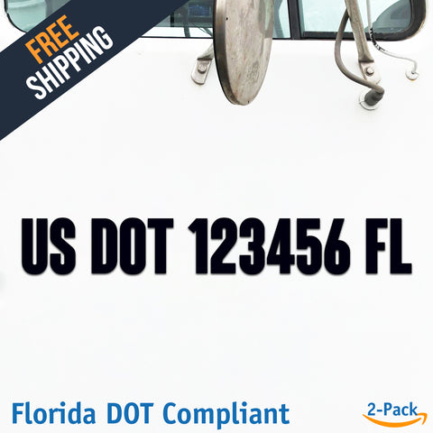 usdot decal florida fl