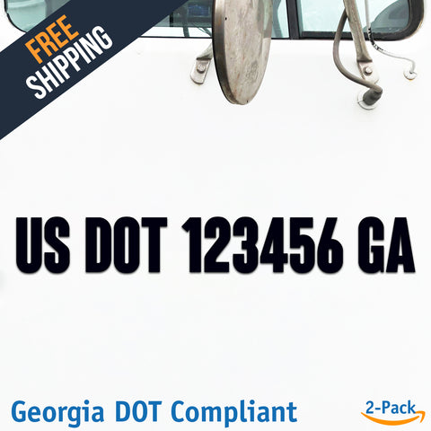 usdot decal georgia ga