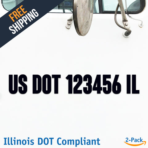 usdot decal illinois il