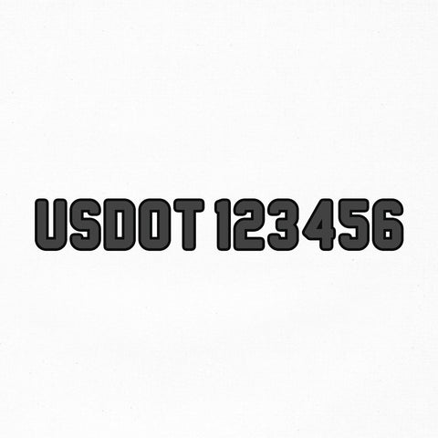 usdot decal