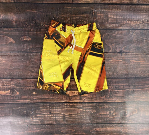 Golden Board Shorts