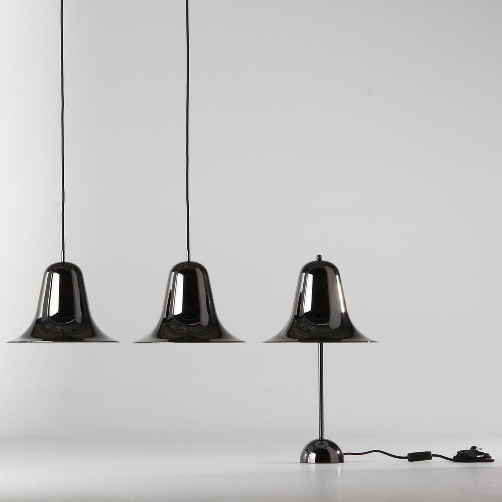 Pantop black chrome lamp sold in House of Gefion