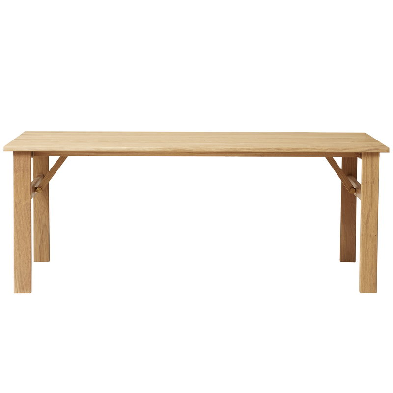 Damsbo dining table 205, oak