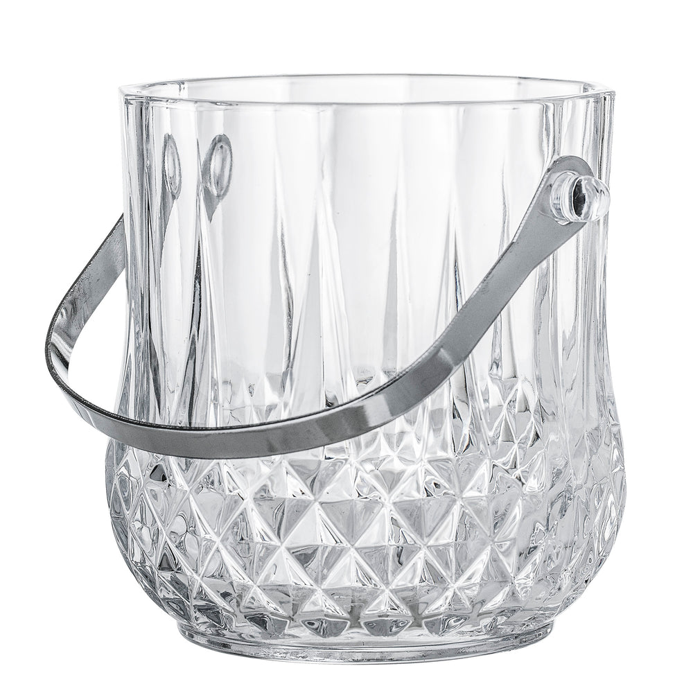 Ice Bucket - Cut Out Glas