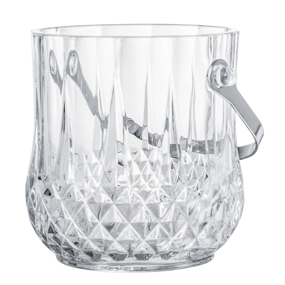 Ice Bucket - Cut Out Glas + house of gefion + bloomingville