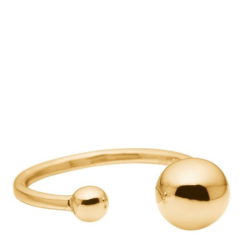 2 balls ring in gold sold in house of gefion