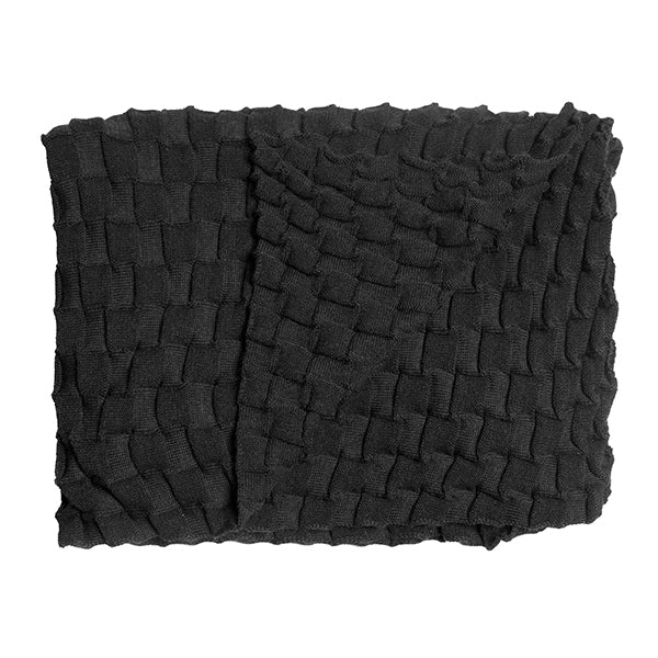 Curly Throw - Anthrazite sold in House of Gefion