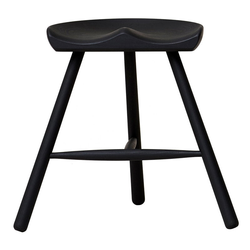 Shoemaker Chair No. 49 stool, black beech