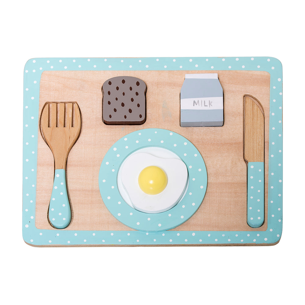 Breakfast Play Set - Wood