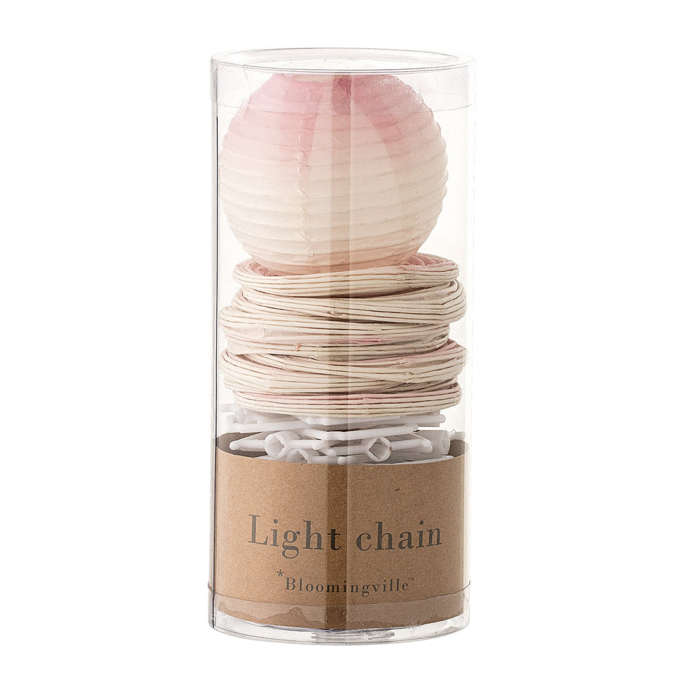 Lightchain in rose + bloomingville + house of gefion