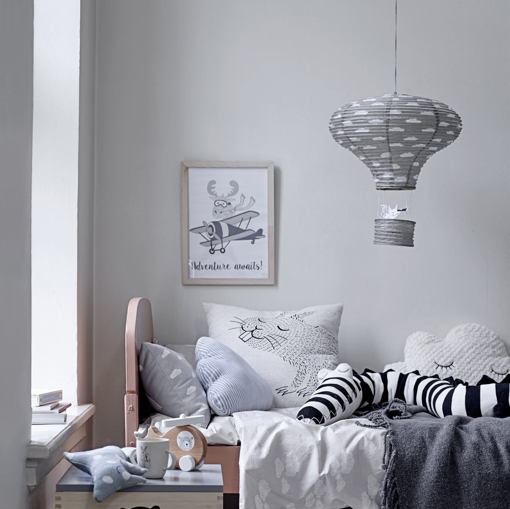 Air Balloon Lantern - Grey