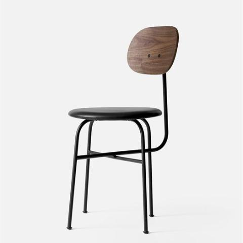Afteroom dining chair with walnut back sold in House of Gefion