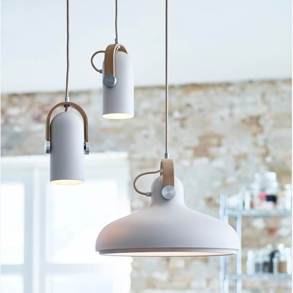 Carronade Spot Pendant Sand from Le Klint sold in House of Gefion