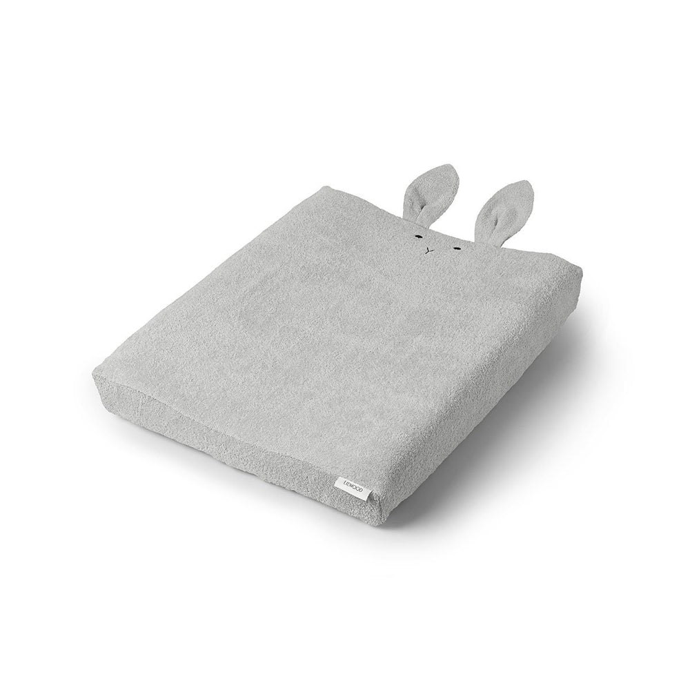 Egon / Changing Mat Cover - Rabbit dumbo grey + house of gefion