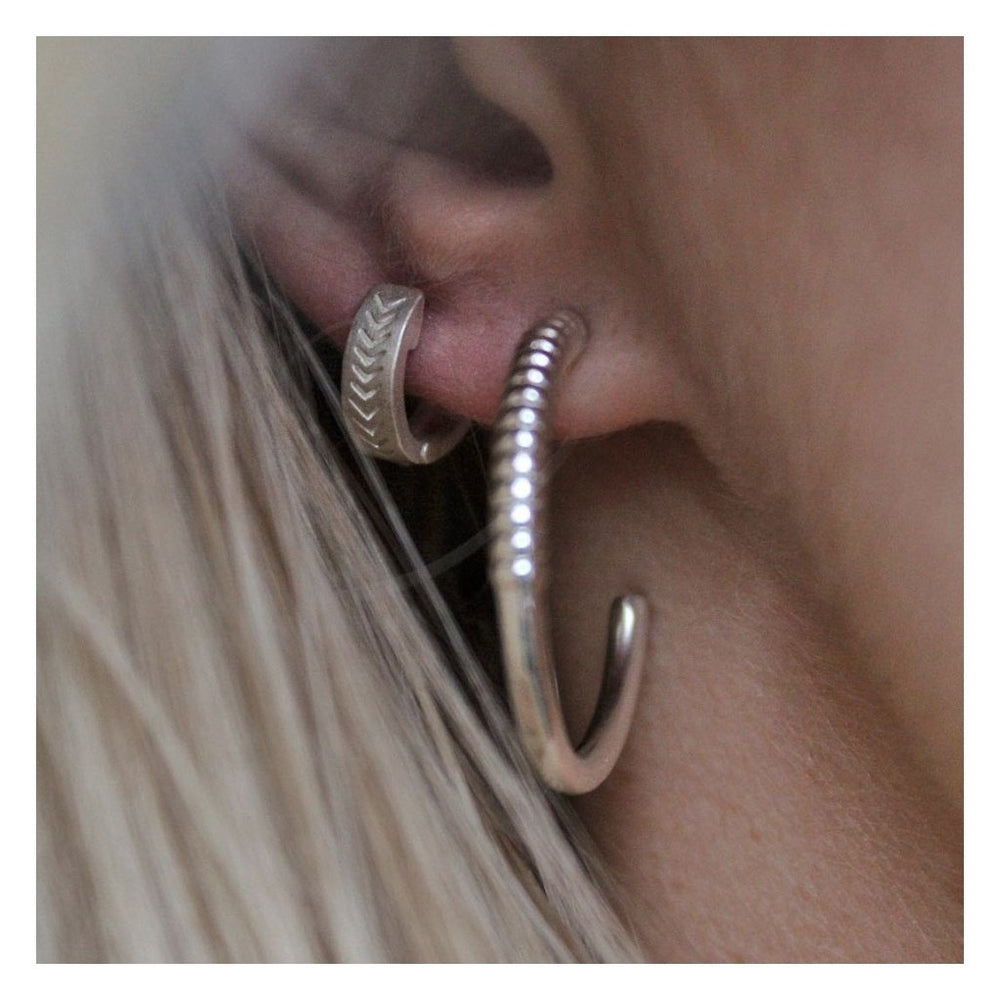 Twisted Loop Earring + house of gefion