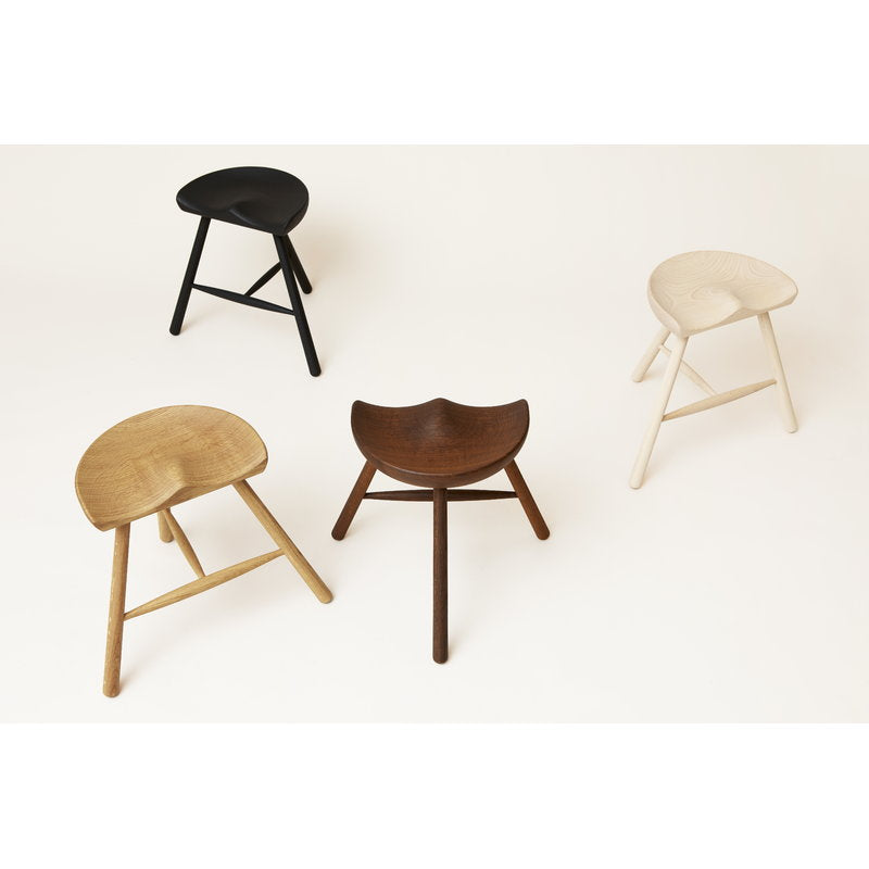 Shoemaker Chair No. 49 stool, smoked oak from Form & Refine sold in House of Gefion