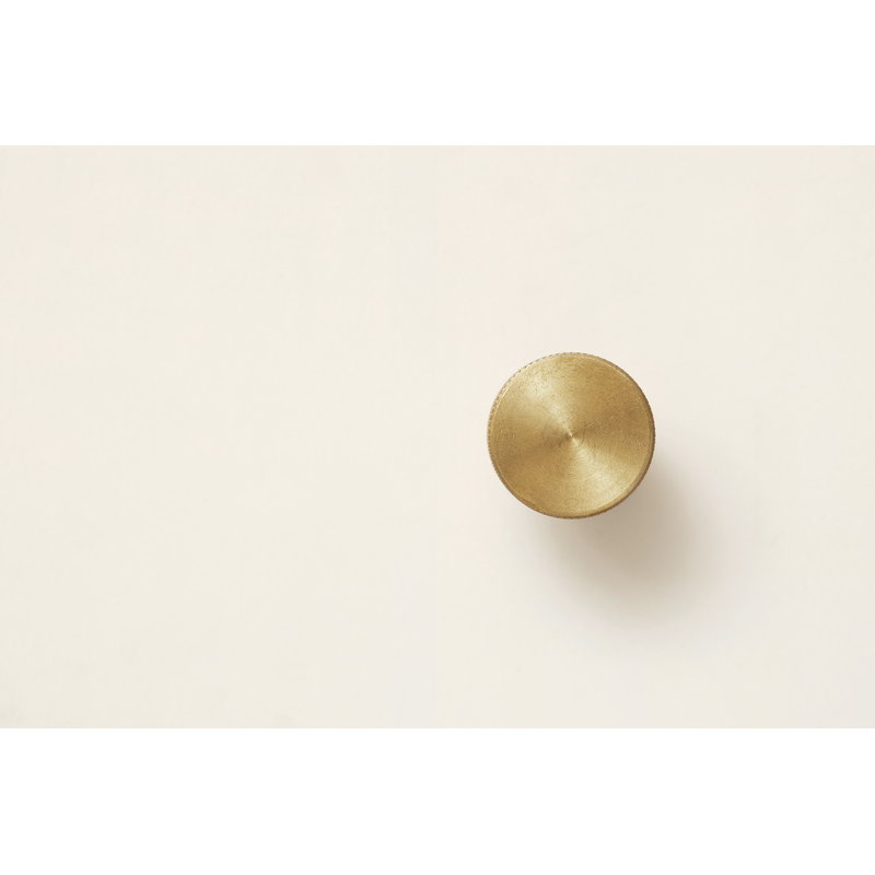 Angle Wall Hook - Brass from Form & Refine sold in House of Gefion