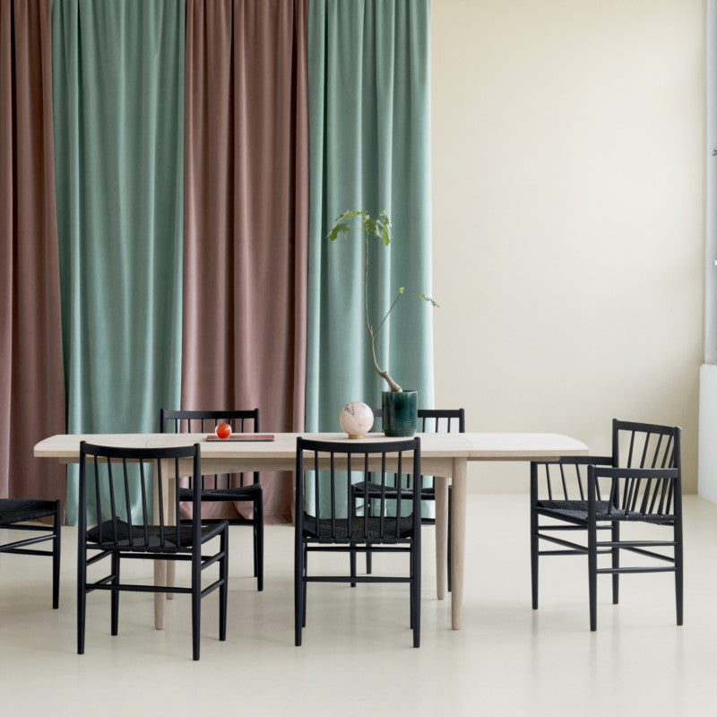 J81 Dining Chair - Black sold in house of gefion