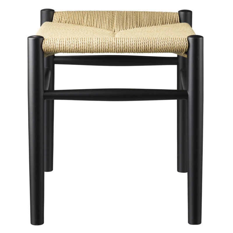 J83 Stool - Black / Nature sold in House of Gefion