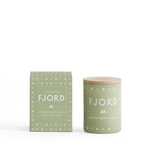 Fjord Mini Scented Candle + house of gefion