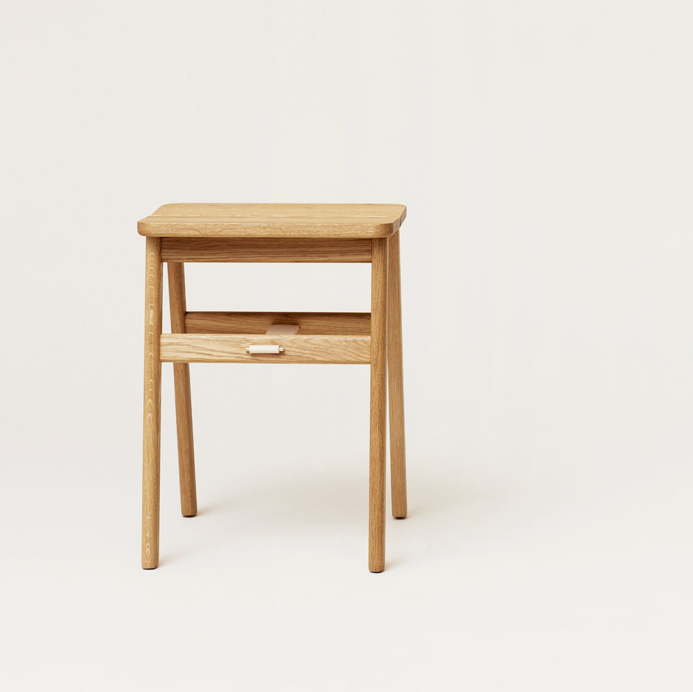 Angel Stool - Oak from Form & Refine sold in House of Gefion