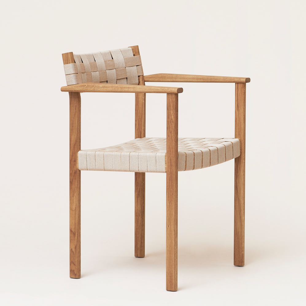 Motif Armchair - Oak from Form & Refine sold in House of Gefion