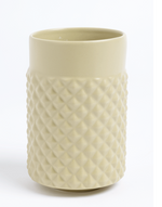 Facet vase by ment sold in House of Gefion