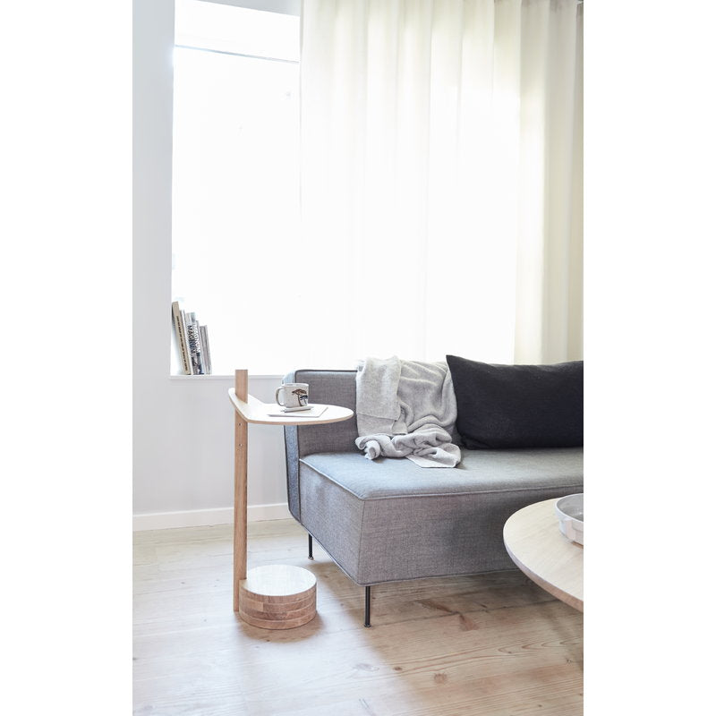 Stilk Side Table - Oak from Form & Refine sold in House of Gefion