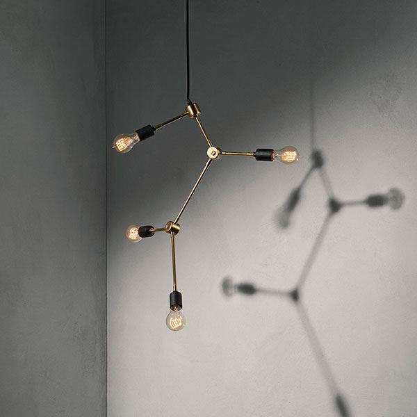 Franklin Chandelier Brass sold in House of Gefion