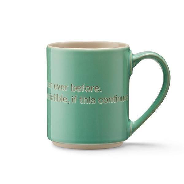 Astrid Lindgren Mug - I'm frecklier and prettier than ever... sold in House of Gefion