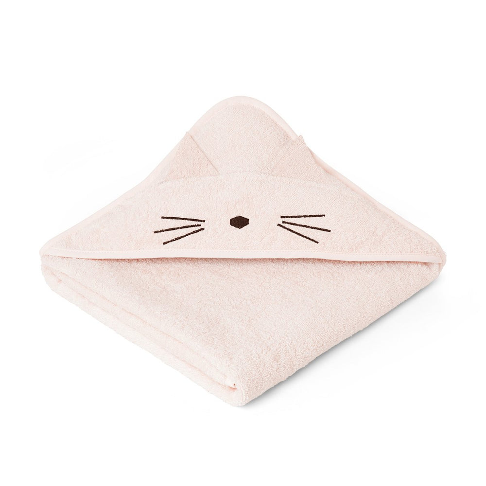 Augusta / Hooded Towel - Cat sweet rose