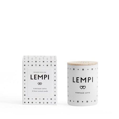 Lempi Mini Scented Candle + house of gefion