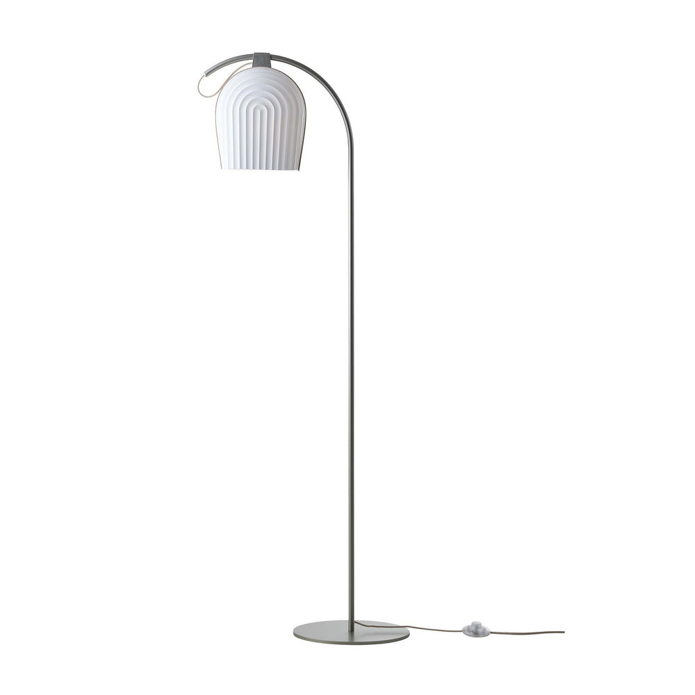 Arc Floor Lamp - light oak