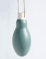 Lightbulb hanging vase large