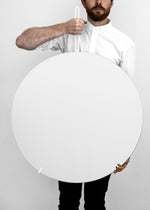 MOEBE Wall Mirror White