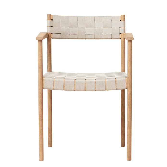 Motif Armchair - White Oak