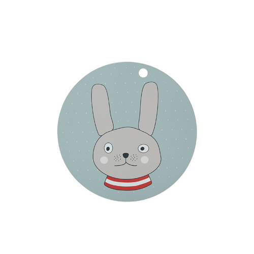 Kids placemat - The Rabbit