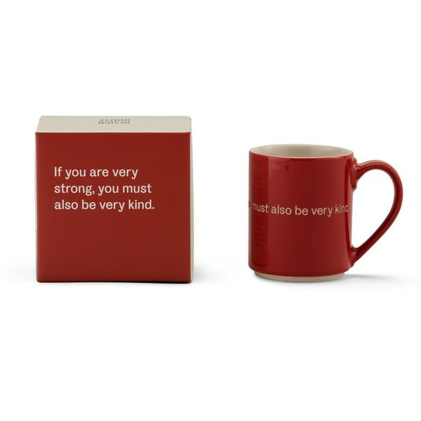 Astrid Lindgren Mug - If you are very strong...