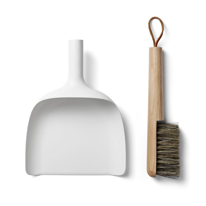 Sweeper & Funnel - White