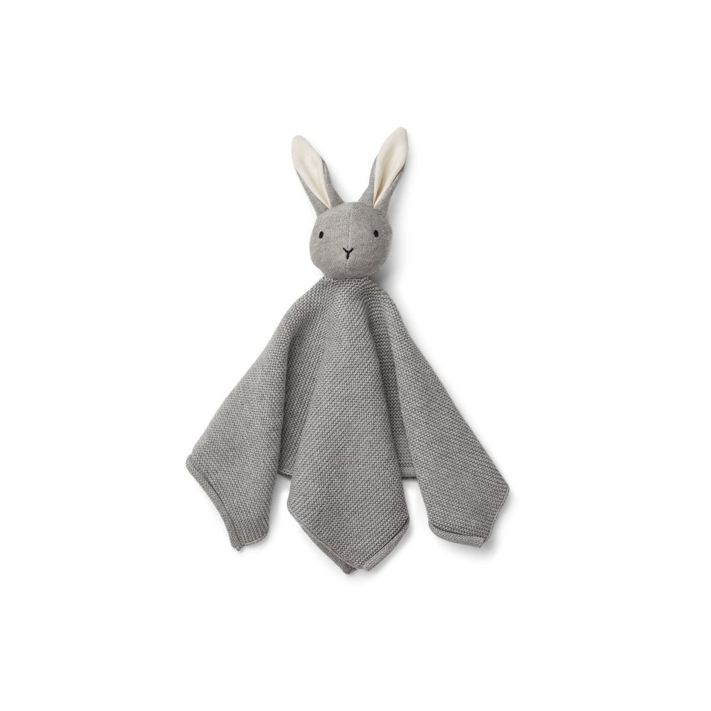 Milo / Knit Cuddle Cloth - Rabbit grey melange + house of gefion