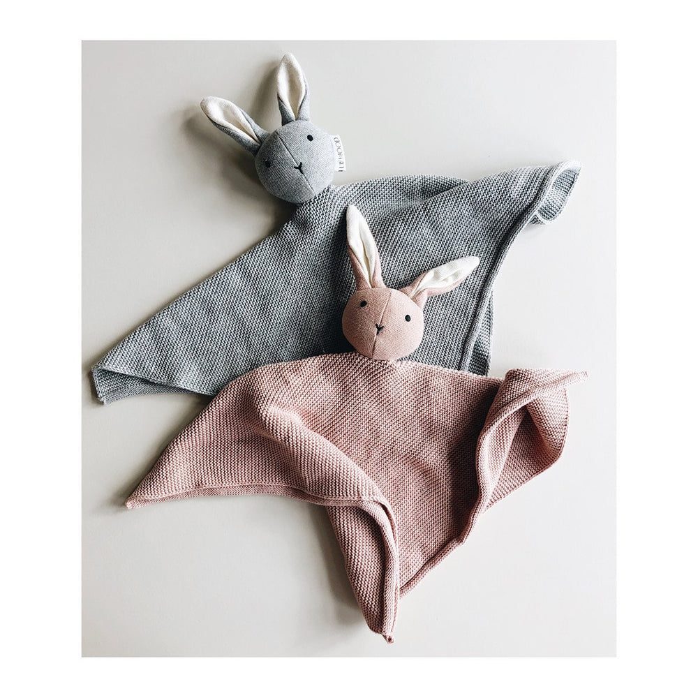 Milo / Knit Cuddle Cloth - Rabbit rose