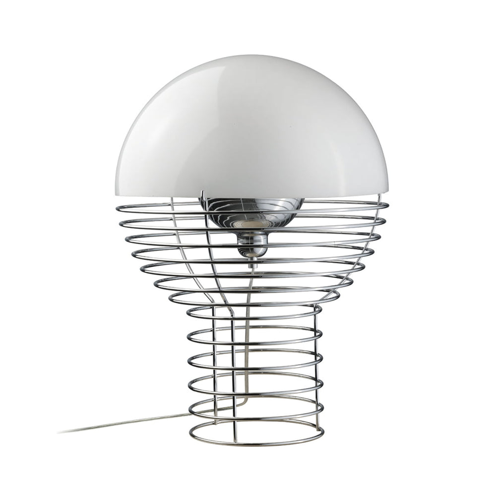 Wire Small Table Lamp by Verner Panton