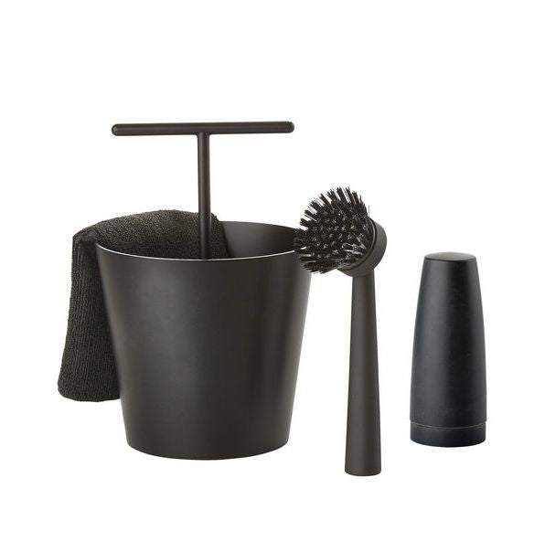 Dishwashing set - Black