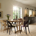 J45 Dining Chair - Black from FDB Møbler sold in House of Gefion