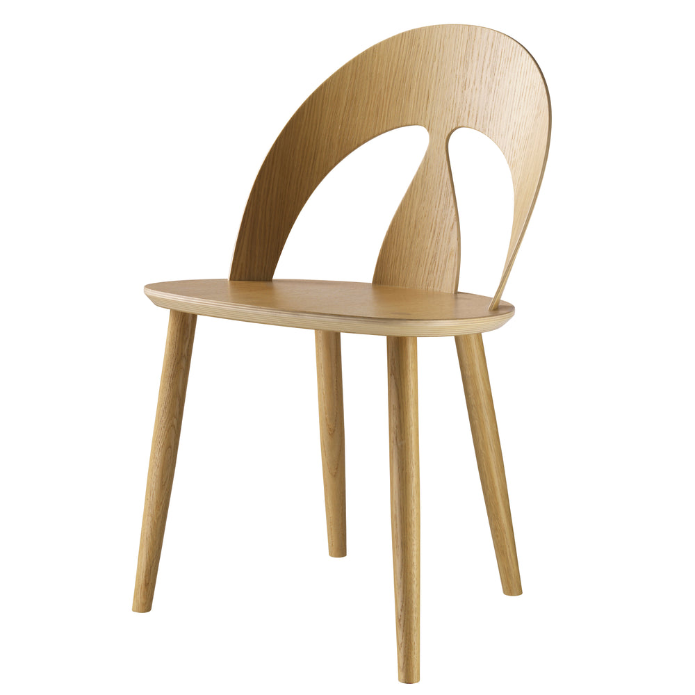 J45 Dining Chair - Oak