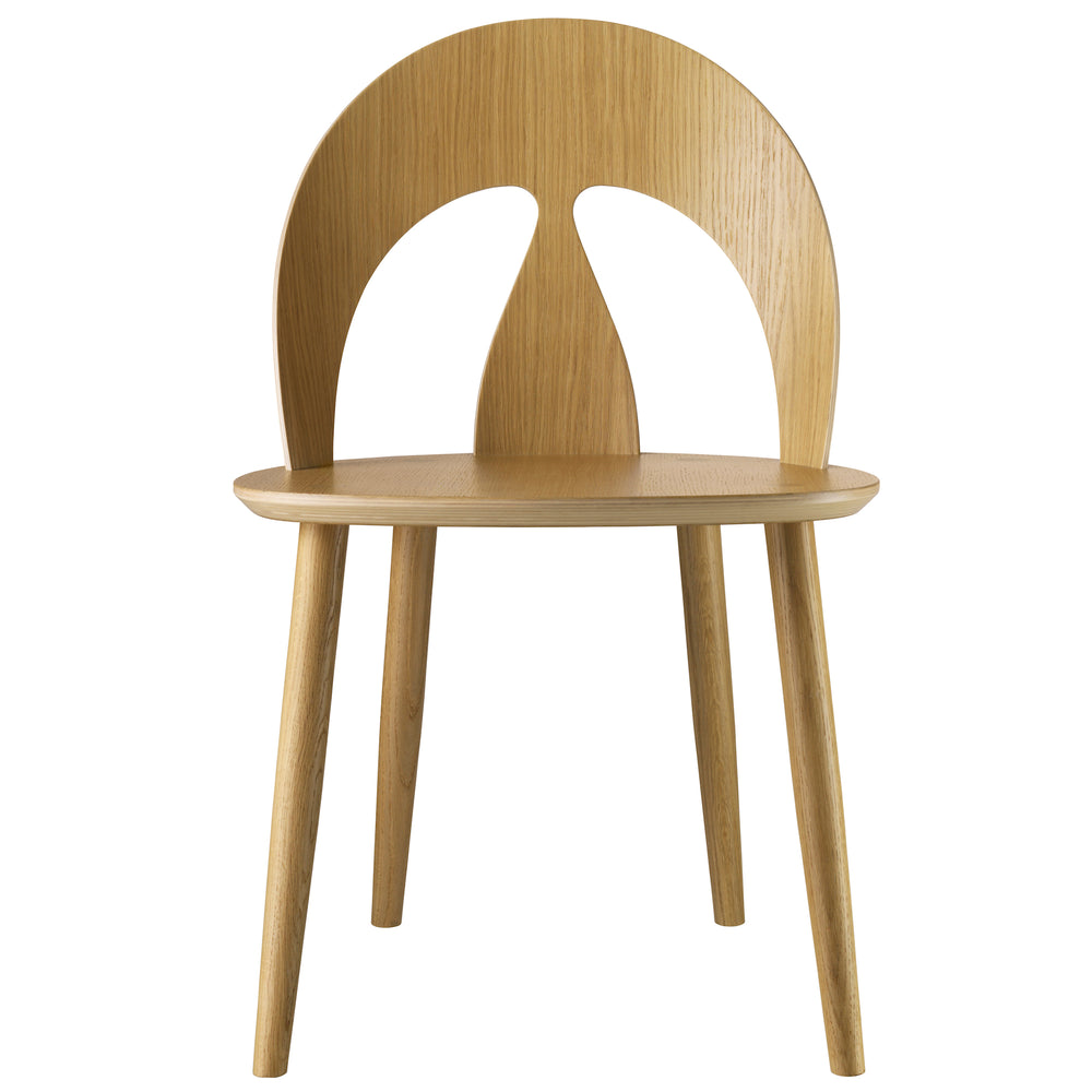 J45 Dining Chair - Oak from FDB Mobler sold in House of Gefion