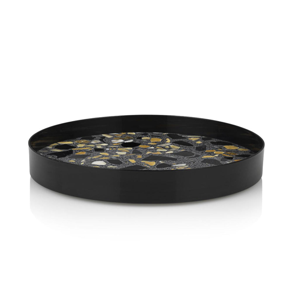 Erat Tray Black Terrazzo from Lucie Kaas sold in House of Gefion