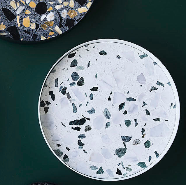 Erat Tray White Terrazzo from Lucie Kaas sold in House of Gefion